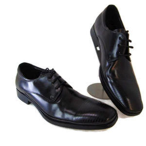 Kenneth Cole Black Casual Dress Oxford Shoes 9 Men